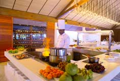Restaurant of Lily Beach Resort & Spa
