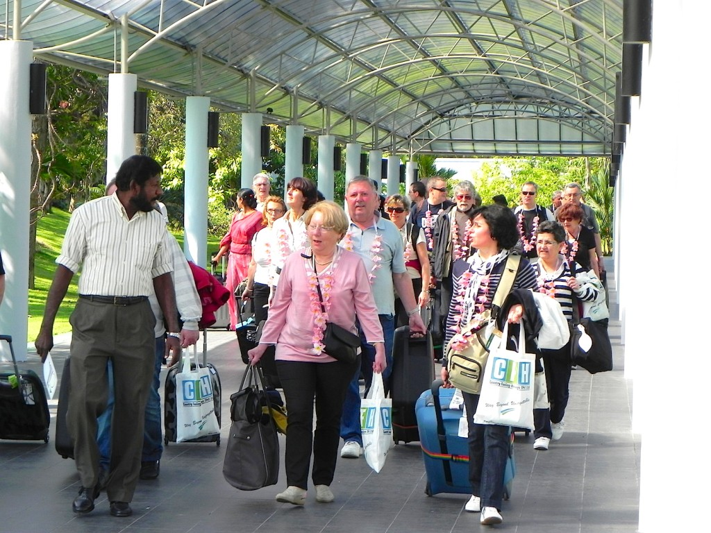 January Tourist arrivals