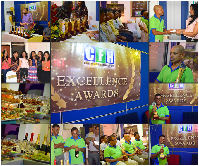 Excellence Awards 2016 for Tour Guides held at Country Feeling Holidays